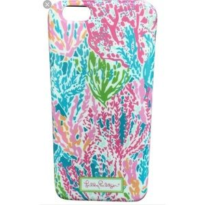 Lilly Pulitzer iPhone 6/6s case.